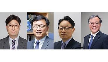 한국과학기술한림원 신임 정회원에 선정된 고상백, 김준, 이영국, 이창하 교수